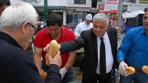 Antalya'da Hamsi Festivali'ne Yoğun İlgi
