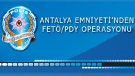 Antalya'da  FETÖ/PDY Operasyonları Kapsamında 5 Şüpheli Yakalandı