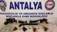 Emniyetten Antalya Merkezli 5 İlde Operasyon