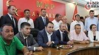 MHP Antalya'da Bayramlaşma