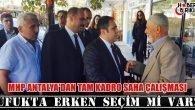 MHP Antalya'dan Tam Kadro Saha Çalışması