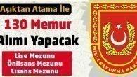 Milli Savunma Bakanlığı 130 Memur Alacak