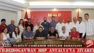 Yıldızdoğan'dan MHP Antalya'ya Ziyaret
