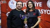 Türkiye İkincisi Kepez Belediyespor