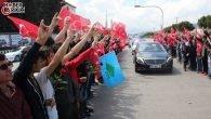 MHP Lideri Devlet Bahçeli'ye Antalya'da Muhteşem Karşılama