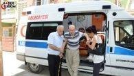 ADANA – Büyükşehir Ambulansları Oy Kullanmak İsteyenlerin Hizmetinde