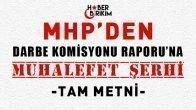 MHP'den Meclis Darbe Komisyonu Raporuna Şerh