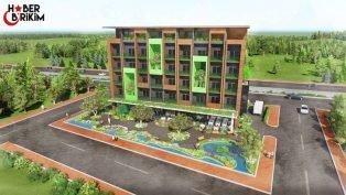 Kepez'e Yeni Hasta Konukevi Binası