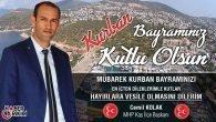 MHP Kaş İlçe Başkanı Cemil Kolak'ın Bayram Mesajı