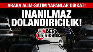 Antalya'da Akıl Almaz Dolandırıcılık!