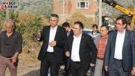 MHP'li Aksoy Afet Bölgesinde İncelemelerde Bulundu