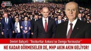 """MHP Lideri Bahçeli """"Bozkurtların Dirilişiyle Şaşkına Döndüler!"""""""