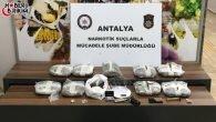 Antalya Emniyeti Zehir Tacirlerine Göz Açtırmıyor