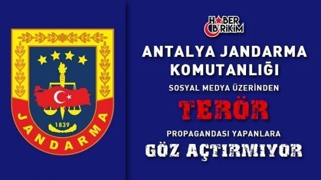 Sosyal Medya Üzerinden Terör Propagandası Yapanlara Operasyon – ANTALYA
