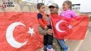 TSK'dan Açıklama: Afrin Halkının Türk Silahlı Kuvvetlerine Karşı Sevgisi Açıkça Görülmektedir.
