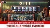 Kepez'in 'Çocuk Filmleri Festivali' Devam Ediyor