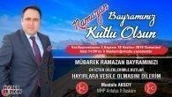MHP Antalya İl Başkanı Mustafa Aksoy'un Bayram Mesajı