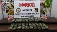 Antalya'da Durdurulan Tırda 21 Kilo Eroin Ele Geçirildi