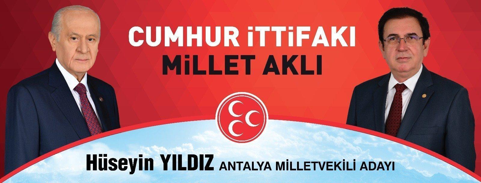 Antalya MHP Milletvekili Adayları Hüseyin YILDIZ