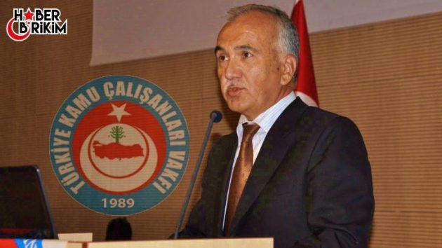 Türkiye Kamu Çalışanları Vakfı (TÜRKAV) Antalya Şubesi Basın Bildirisi