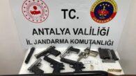 Alanya'da Kuru Sıkı Tabanca İmalatı Operasyonu