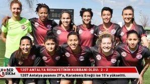 1207 Antalya Rehavetinin Kurbanı Oldu:  2 – 2