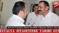 Ak Parti'den MHP'ye Tarihi Ziyaret
