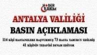 Antalya Valiliği Basın Açıklaması Yayınladı