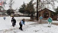 Antalya'da Kar Sevinci