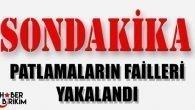 Antalya'daki Patlamaların Failleri Yakalandı
