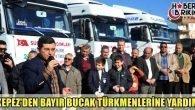 Kepez'den Bayır- Bucak'a 6 TIR Yardım