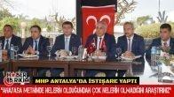 MHP Antalya'da İstişare Yaptı