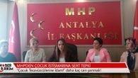 MHP'den Çocuk İstismarına Sert Tepki
