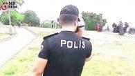 Antalya Emniyeti Falez Bölgesinde Denetim Uygulaması Yaptı