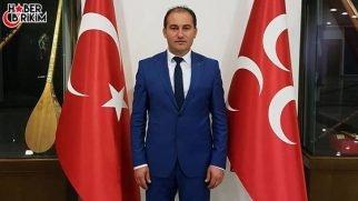 MHP Serik İlçe Başkanı Ahmet Ali Coşkun'un Bayram Mesajı