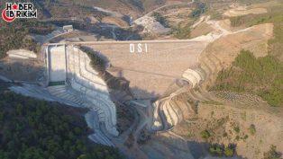 Gazipaşa'da Beklenen Gün Gökçeler Barajında Su Tutuldu!