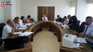 Antalya Valiliği İl Kurban Komisyonu Toplandı