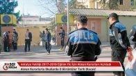 Antalya Valiliği 2017 – 2018 Eğitim Öğretim Yılı Güvenlik Kararları