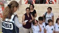 Polisler Çocukların Güvenliği İçin Yüz Bin Broşür Dağıttı – ANTALYA