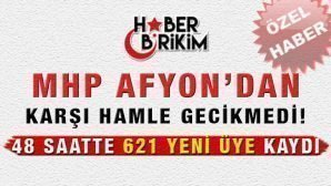 MHP Afyon'dan Karşı Hamle Gecikmedi!