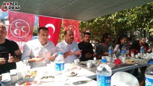 MHP Kemer'den Kahvaltılı Mahalle Toplantısı
