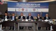 Yol Uygulama Noktaları Koordinasyon Toplantısı Antalya'da Gerçekleştirildi