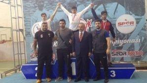 Halterde Türkiye Şampiyonu Olduk!