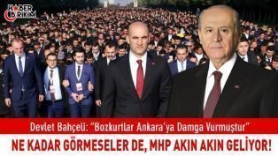 "MHP Lideri Bahçeli ""Bozkurtların Dirilişiyle Şaşkına Döndüler!"""