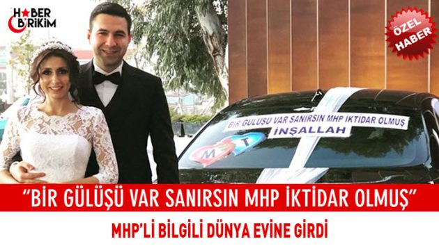 MHP Muratpaşa İlçe Başkanı Bilgili Dünya Evine Girdi – Mustafa YILMAZ Özel Haber