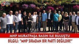 """MHP Muratpaşa İlçe Başkanı Bilgili """"MHP Sıradan Bir Parti Değildir!"""""""